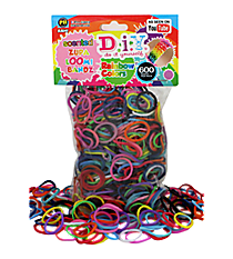 600 Rainbow Scented Zupa Loomi Refill Bandz #BR-315S