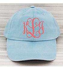 Washed Light Blue Baseball Cap #LP101