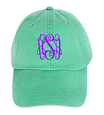 Washed Seafoam Baseball Cap #LP101