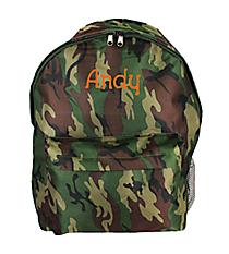 Camo Backpack #LBP-701