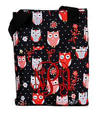Hoot-Winked Insulated Lunch Tote #LT11-1321