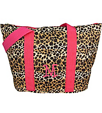 Leopard with Pink Trim Insulated Lunch Bag #LT15-2008-P
