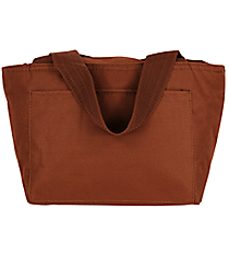 Brown Insulated Lunch Bag #8808-27-BROWN