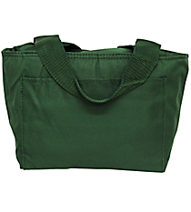 Forest Green Insulated Lunch Bag #8808-FOREST
