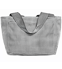 Grey Insulated Lunch Bag #8808-GREY