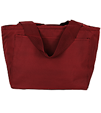 Maroon Insulated Lunch Bag #8808-11-MAROON