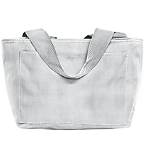 White Insulated Lunch Bag #8808 WHITE