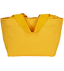 Bright Yellow Insulated Lunch Bag #8808-BRTYELLOW