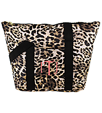 Black Leopard Insulated Lunch Bag #C15-504