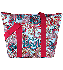 Electric Paisley Insulated Lunch Bag #C15-509