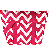 Pink Chevron Insulated Lunch Bag #C15-601-P