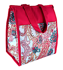 Electric Paisley Insulated Lunch Tote #CC18-509