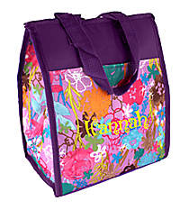 Lavender Garden Insulated Lunch Tote #CC18-911