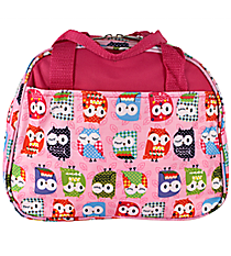 Pink Hootie-Hoo Bowler Style Insulated Lunch Bag #CC20-401