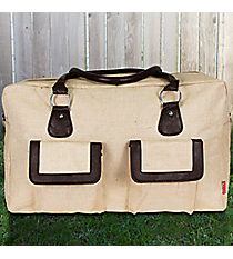 Khaki Juco Weekender Bag #MA737-KHAKI