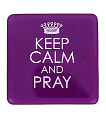 Keep Calm and Pray Meaningful Magnet #MGE036