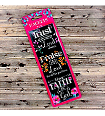Trust, Praise, Faith Inspirational Magnet Set #MGS023of 3 Magnets #MGS023