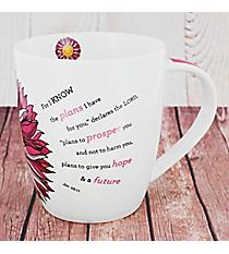 Jeremiah 29:11 Flower Mug #MUG324