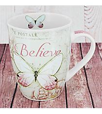 Mark 9:23 Butterfly Mug #MUG401