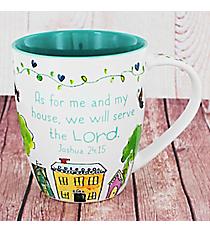 Joshua 24:15 Home Mug #MUG408