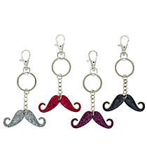 One Mustache Key Chain #MOU-KC-SHIPS ASSORTED