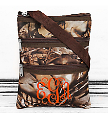 BNB Natural Camo Hipster with Brown Trim #N231-BROWN