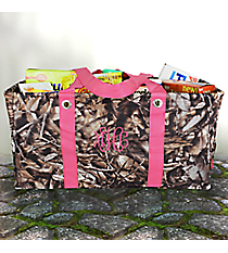 BNB Natural Camo Collapsible Haul-It-All Basket #N401-HPINK