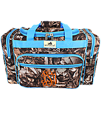 "20"" BNB Natural Camo Duffle with Turquoise Trim #N420-TURQ"