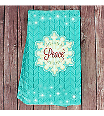 Pack of 20 'Let There Be Peace' Lunch Napkins #NAP004