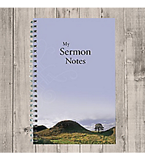 My Sermon Notes Wirebound Notebook #NB003