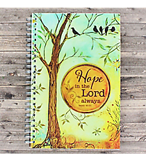 "Isaiah 41:30 ""Hope"" Journal #NBW002"