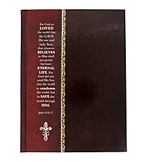 John 3:16-17 Hardcover Journal #JBB031