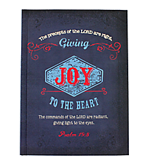 Psalm 19:8 Hardcover Journal #JBB033
