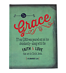 1 Timothy 1:14 Hardcover Journal #JBB035