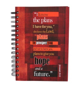 """I Know the Plans"" Large Wirebound Journal #JLF069"