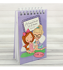 Holly & Hope Proverbs 17:17 Small Wirebound Notepad #NP033