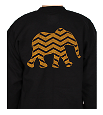 Chevron Elephant Heavy-weight Crew Sweatshirt *Choose Your Colors