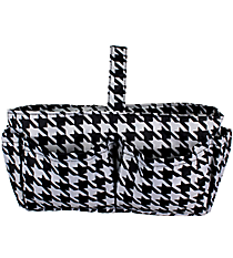 Houndstooth Organizer Bag #840