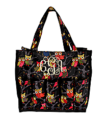 Bright Eyed Owls Organizer Bag #HY009-901