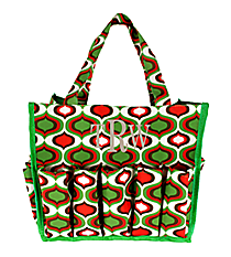 Green Ogee Organizer Bag #HY009-913