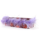 Purple and Orange Peacock Magnetic Locker Accessory Cup #21350