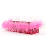 Pink Holographic and Pink Feathers Magnetic Locker Accessory Cup #21360