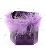 Purple Holographic and Purple Feathers Magnetic Locker Pencil Cup #21366