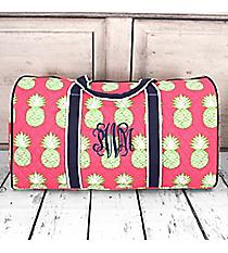 """Pineapple Of My Eye Duffle Bag 21"""" #PIL2626-NAVY"""