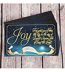 25 Luke 2:11 'Joy' Promise Cards #PIO1035
