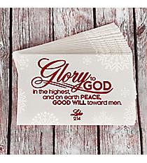 25 Luke 2:14 Promise Cards #PIO1036