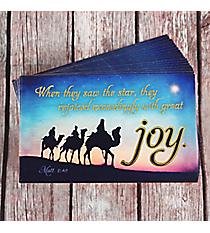 25 Matthew 2:10 Promise Cards #PIO1037