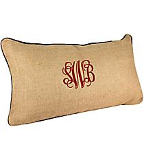 Burlap Throw Pillow #PLW-BLANK
