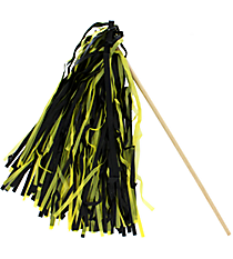 1 Black and Gold Spirit Pom Pom #13607205