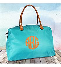 Turquoise Weekender Bag #R803-TURQ